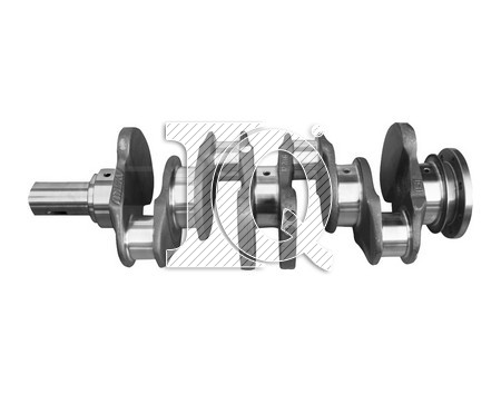 IQ3511, 3140303202-3140306202, Crankshafts, M. BENZ, OM 314 (New Type-Fixed Counterweights)